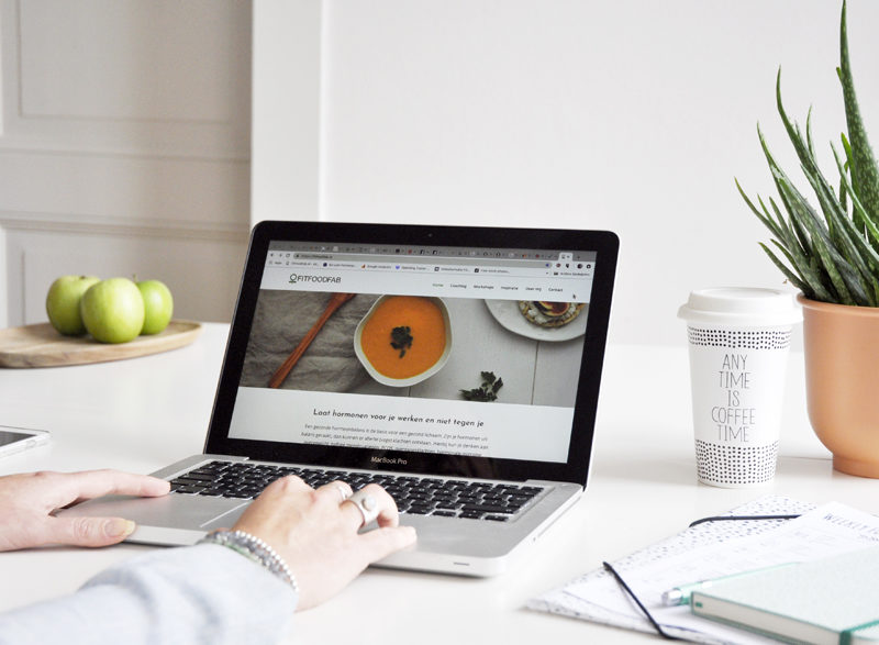 Nieuwe website is online FitFoodFab